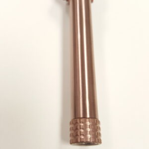 Threaded Copper Finish Glock 19 barrel
