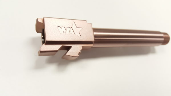 Glock 19 Copper Threaded Barrel