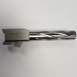 Spiral Fluted SS Match Grade Barrel