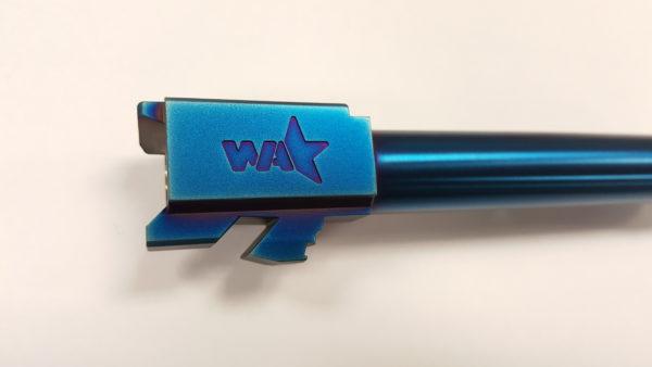 Glock 17 cobalt Blue Barrel