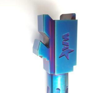 Glock 17 Blue Spiral Fluted Barrel