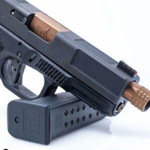Wheaton Arms Copper Match Grade Barrel & Elite Pro-Carry Trigger Fits Glock G19