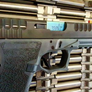Wheaton Arms Cobalt Blue Match Grade Barrel & Elite Pro-Carry Trigger Fits Glock G17
