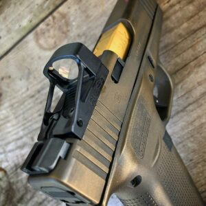 Wheaton Arms TiN Gold Match Grade Barrel & Elite Pro-Carry Trigger for Glock 19