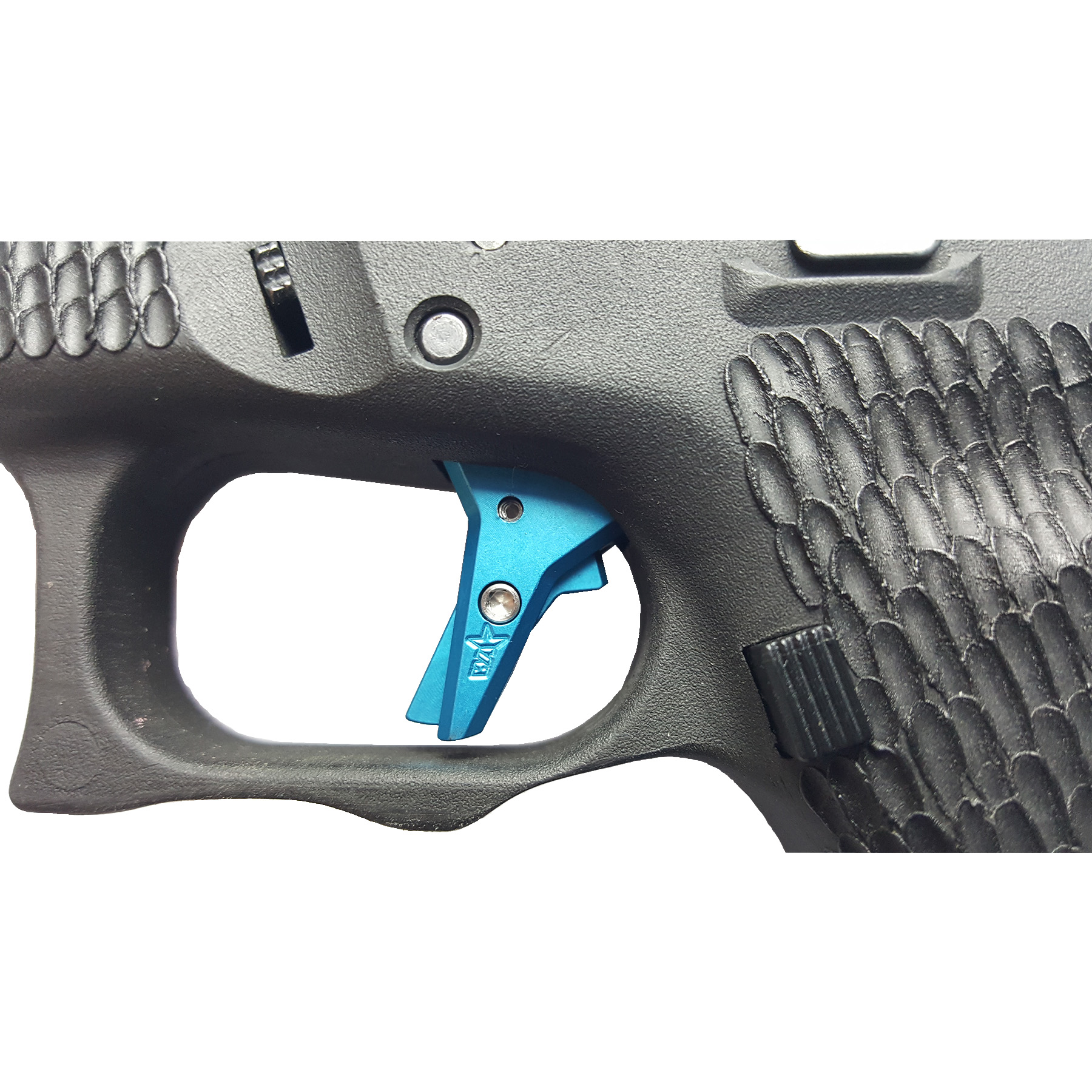 Wheaton Arms Elite Pro-Carry Trigger Assembly, Blue Finish, Fits Glock 20,  21, 40, 41 Gen 1-4