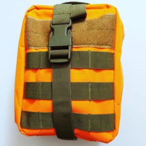 Go Med Gear Medical Bag Orange Outside