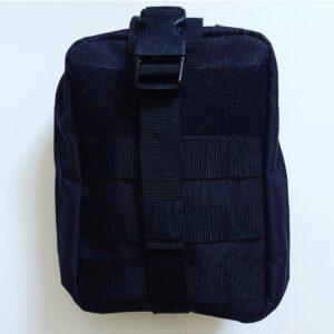 Go Med Gear Medical Bag Black Outside